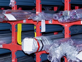 Stockage de produits longs Rollrack de Dexion