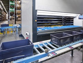 Machine de stockage verticale automatisée TORNADO