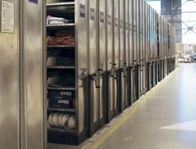 Le système d'étagères mobiles Hi280