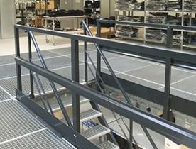 Structures de plancher de mezzanine de Dexion